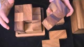 Soma Cube Puzzle JUMBO - unusual large size
