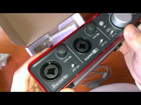 Audio-Technica AT2020 + Focusrite scarlett 2i2 обзор, тест, обзор, unboxing