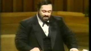 Luciano Pavarotti Video - CONSEJOS DE PAVAROTTI - AULA DE CANTO FERNANDO BAÑÓ -