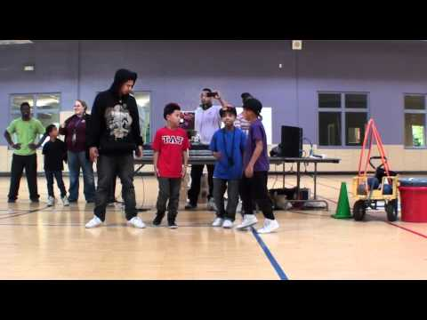 The Art of Teknique-Random freestyle at The Boys&Girls Club