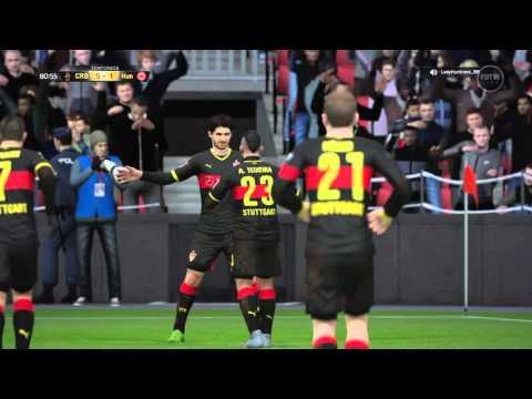 Pato corte no zagueiro e cavadinha no goleiro FIFA 16