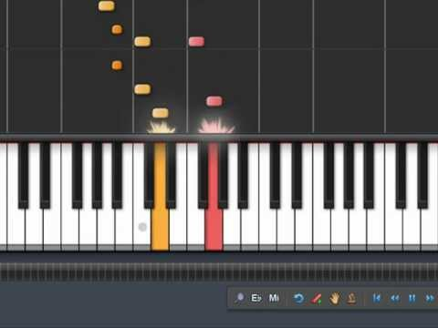How To Play Akcent-Im Sorry On Piano (Synthesia 100)