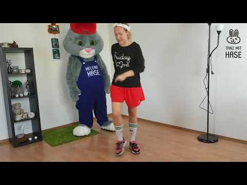 Лучшие Уроки ТАНЦЕВ для Начинающих || Tanz mit Hase - Развивающие Танцы Онлайн || Урок 1