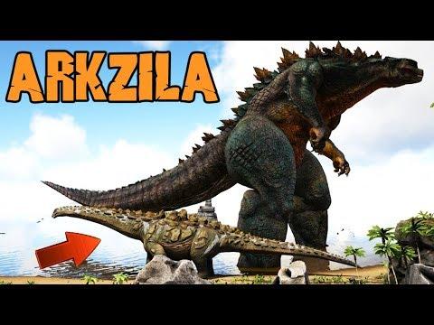 WE HAVE A GODZILLA! (ep13) - Ark Extinction Survival Evolved