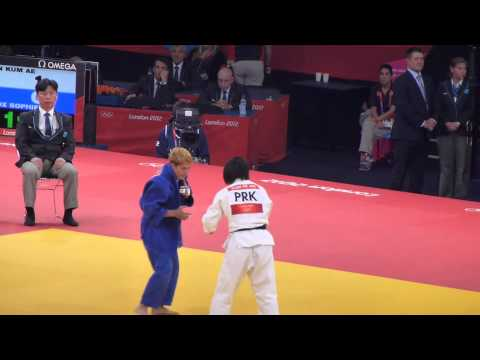 An Kum Ae (PRK) vs Sophie Cox (GBR) - Judoka (Judo) - London 2012 Olympic Games