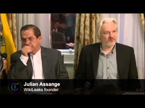 WikiLeaks founder Julian Assange announces he will leave Ecuadorian embassy
