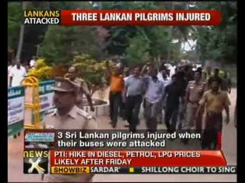 Sri Lankan Pilgrims Attacked In Tamil Nadu - Newsx video