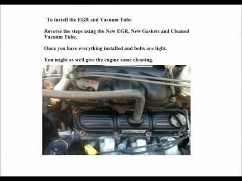 Dodge 2006 Caravan 3.8L - Replace EGR valve