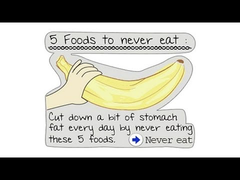 Five foods to avoid when dieting