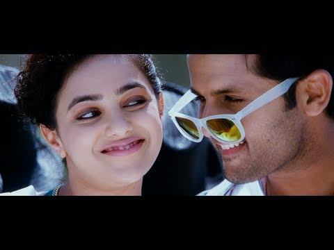 Gunde Jaari Gallanthayyinde Full Video Song Nitin Nithya Menon Hd Blu Ray 1080p video