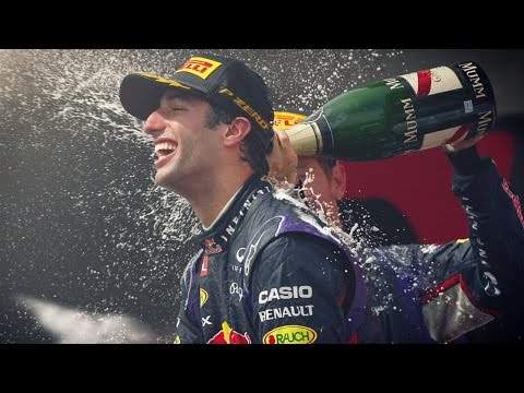 Daniel Ricciardo's First Formula One Win - Canadian Grand Prix 2014