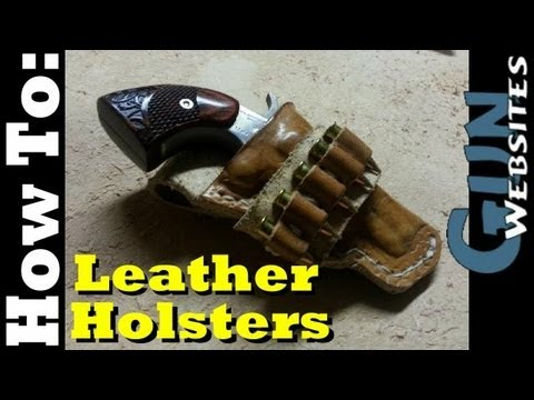 Making Leather Holsters EASY