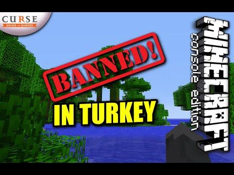 MINECRAFT - BANNED IN TURKEY ?!?!? - WTF - UPDATE