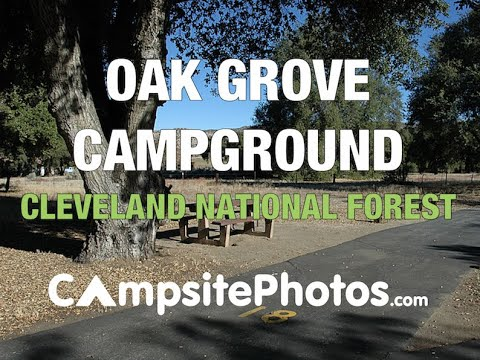 Oak Grove Campground, Cleveland National Forest, California