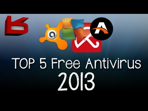 TOP 5 - Best Free AntiVirus 2013