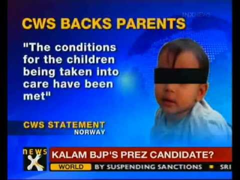 Norwegian court to decide fate of NRI kids today - NewsX