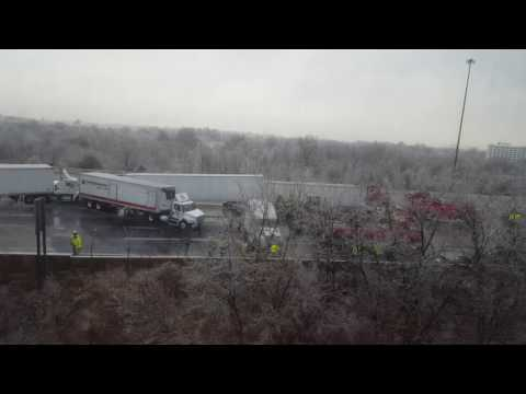 Accident on I-95 North in Baltimore