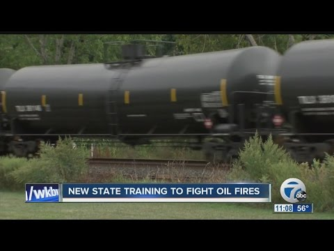 NY boosts first responder training for oil fires