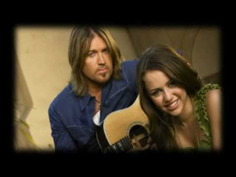 Billy Ray Cyrus and Miley My Little Girl