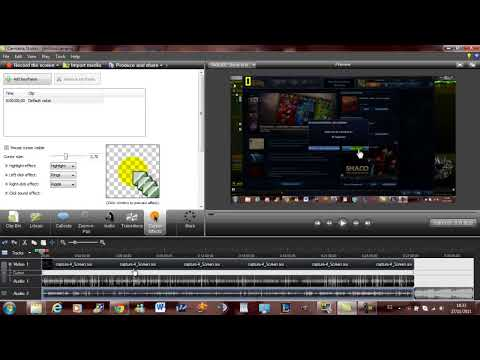 Tutorial Camtasia studio 7.0-7.1