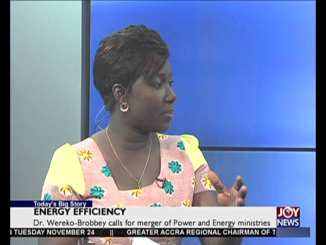 Energy Efficiency - Today's Big Story on Joy News (25-11-15)