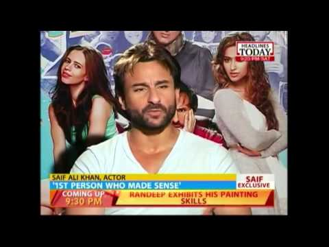 Modi is the first person who made sense: Saif Ali Khan