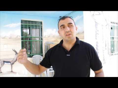 Malek Abu Alfailat about water distribution in Palestine
