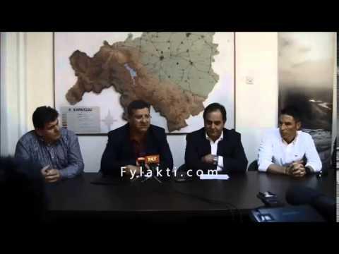 Συνέντευξη Τύπου Xterra Greece Καρδίτσα 1-4-15 Δημήτρης Τσιαντής - Fylakti.com