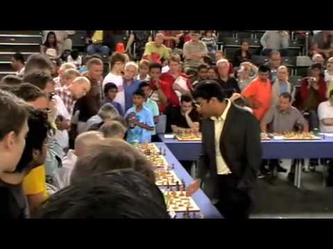 Viswanathan Anand simultaneous exhibition Zurich 2009