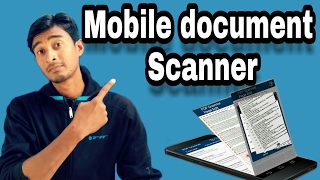 How to Scan a Document to Your phone in hindi