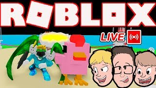 ROBLOX EGG FARM SIMULATOR | ALIEN UPDATES | Family Friendly Gaming  (Live Stream)