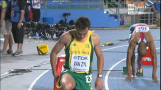 Daegu 2011:  400m Hurdles - M  FINAL  [David Greene 48,26]