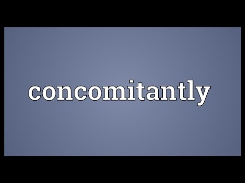 Header of concomitantly