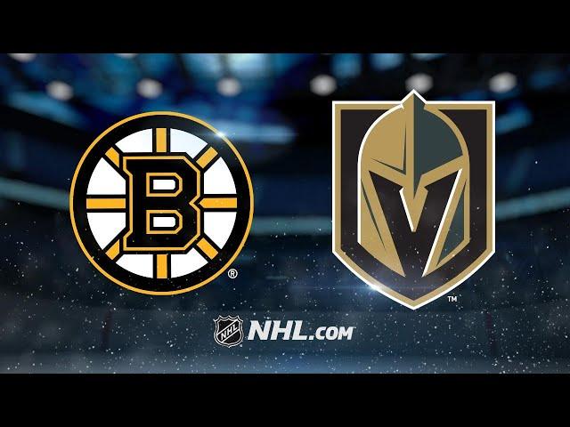 Subban gets first NHL win as Vegas beats Boston, 3-1