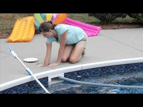 Hook up pool vacuum above ground pool