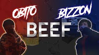 『2019 BEEF』 OBITO VS. BIZZON | VIDEO LYRICS