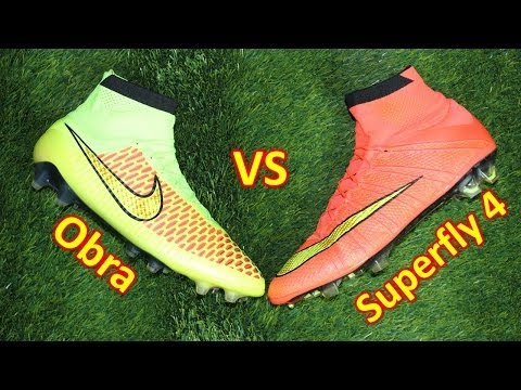 Nike Mercurial Superfly 4 VS Magista Obra - Comparison + Review