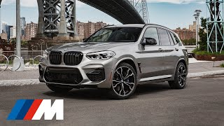 The BMW X3 M hits the streets of New York City