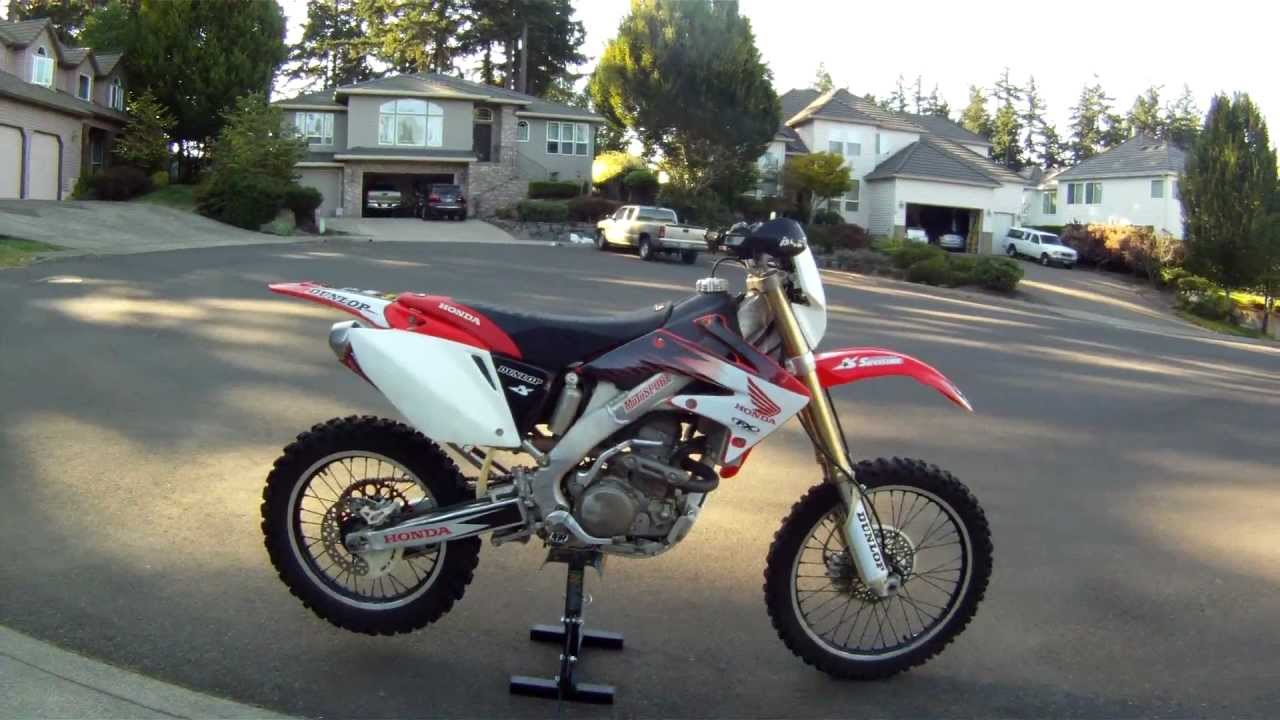Modded 2005 Crf250x Youtube
