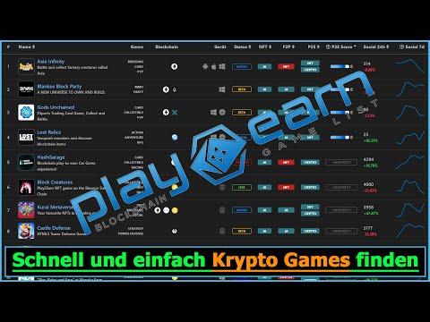 Krypto Games finden 🎮 So findest du schnell und einfach vorhandene und neue Krypto Spiele [deutsch]