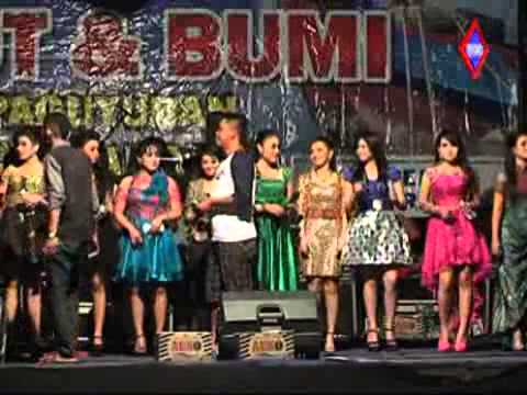Setangkai Bunga Padi - All Artis Monata Tasik Agung Rembang 2014 video