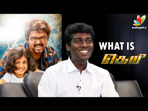 Theri Director Atlee opens up about what to expect from the Film
