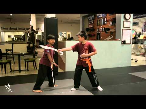 Serrada Eskrima Outside Block Taught by Kids! Image 1
