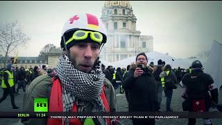 Medics on high alert: 80-thousand people participated in Yellow Vest protests across France