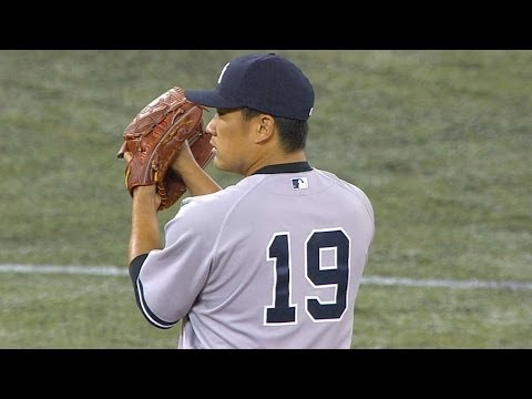 NYY@TOR: Tanaka fans eight over seven in MLB debut