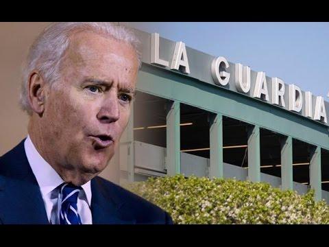 Joe Biden: LaGuardia Airport Looks Like a