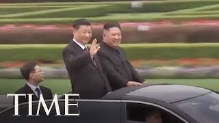 China's President Xi Jinping Holds Talks With Kim Jong Un In North Korea | TIME