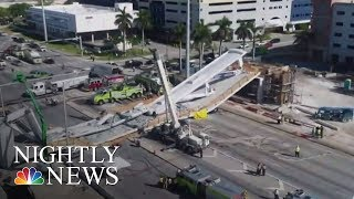 Collapsed Florida Bridge Was Built Using 'Accelerated' Technology | NBC Nightly News