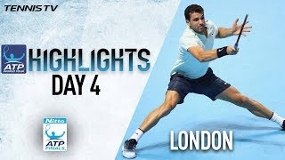 Highlights: Dimitrov Seals SF Berth, Thiem Wins In Nitto ATP Finals 2017