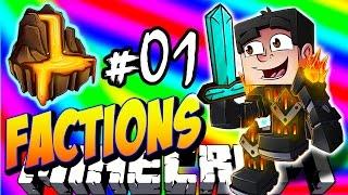 Minecraft FACTIONS VERSUS #1 'MOLTEN REALM!' - Treasure Wars S2